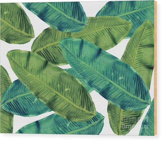 Tropical Colors 2 Wood Print