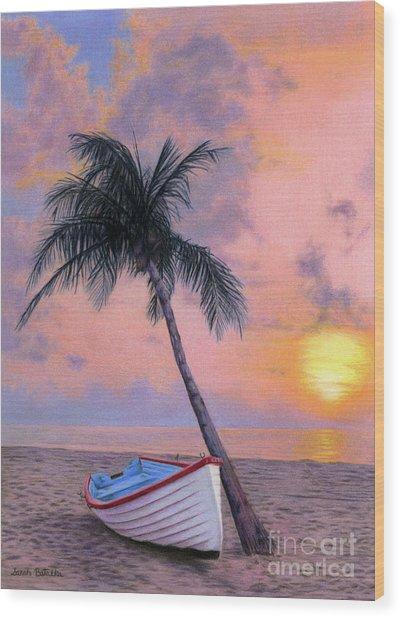 Tropical Escape Wood Print
