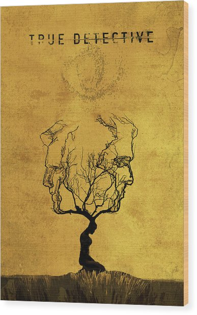 True Detective Tv Show  Wood Print