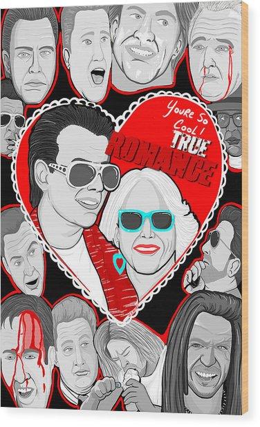 True Romance Wood Print by Gary Niles