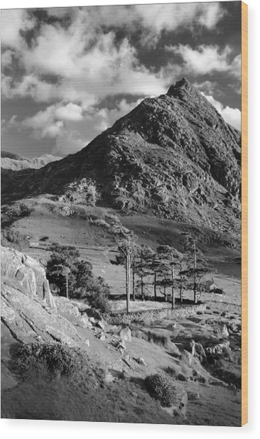 Tryfan And Ogwen Valley Wood Print