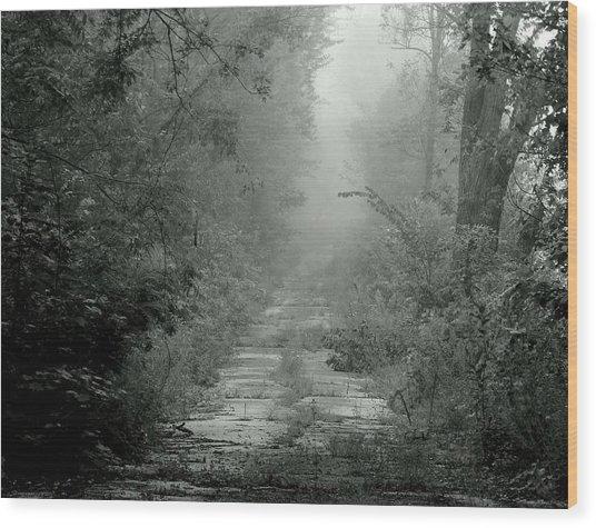 Tuatha De Danann Road Wood Print