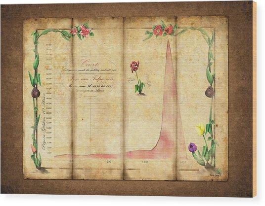Tulipomania Wood Print