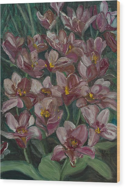 Tulips From Holland Wood Print