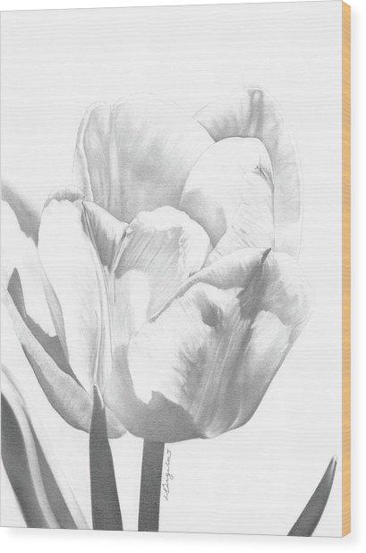 Tulips No. 1 Wood Print