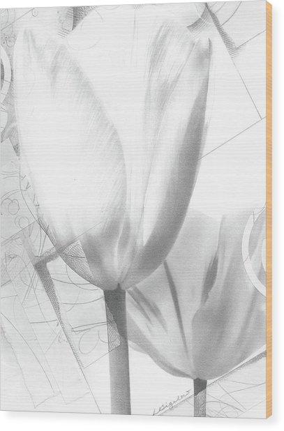 Tulips No. 3 Wood Print
