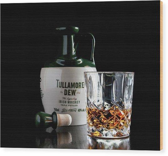Tullamore D.e.w. Still Life Wood Print