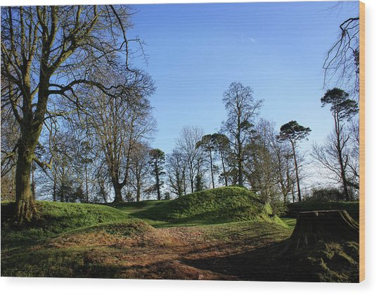 Tullyhogue Fort, Cookstown. Wood Print