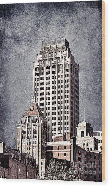 Tulsa Art Deco I Wood Print