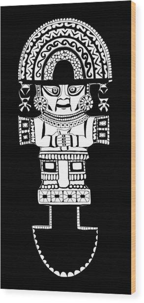 Tumi Knife Wood Print