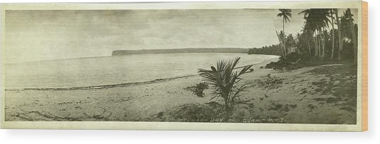 Tumon Bay Guam Wood Print