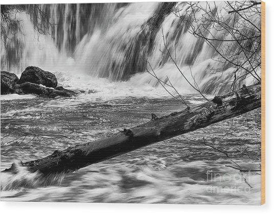 Tumwater Waterfalls#2 Wood Print