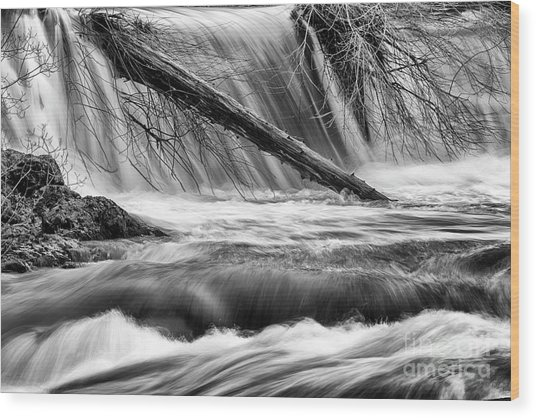 Tumwater Waterfalls#3 Wood Print