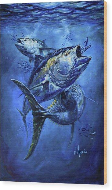 Tuna  Wood Print