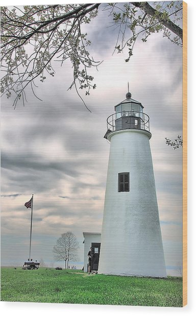 Turkey Point Lighthouse Wood Print