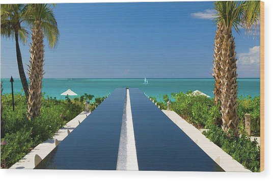 Turks And Caicos Wood Print