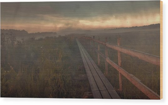 Wood Print featuring the photograph Turn To Infinity #g6 by Leif Sohlman