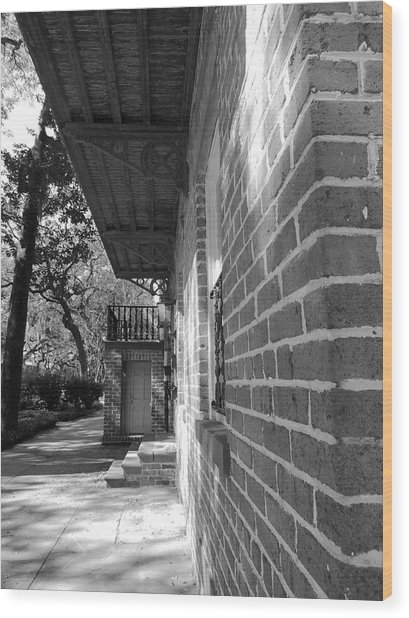 Turning A Savannah Corner Wood Print