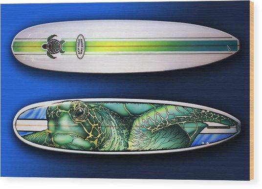 Turtle Board Wood Print