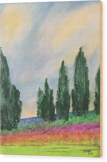Tuscany Dream Wood Print