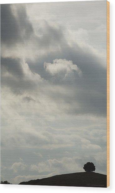 Tuscany Wood Print by Luigi Barbano BARBANO LLC
