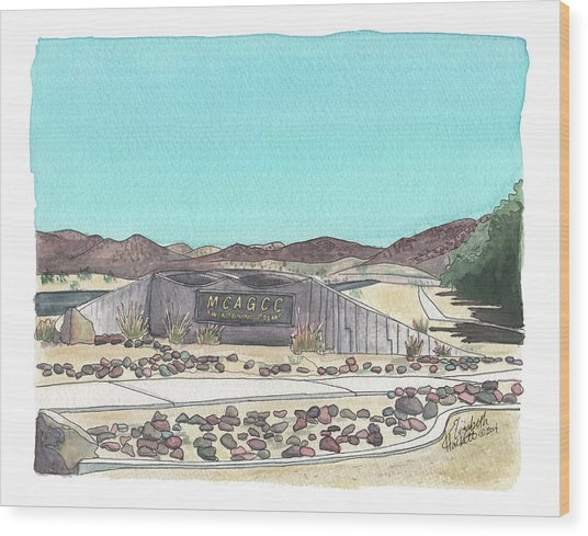Twentynine Palms Welcome Wood Print