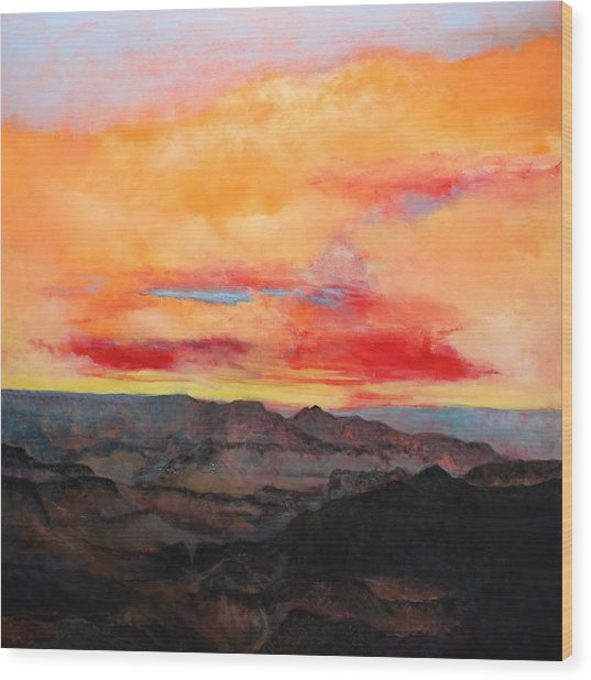 Twilight 8 Wood Print
