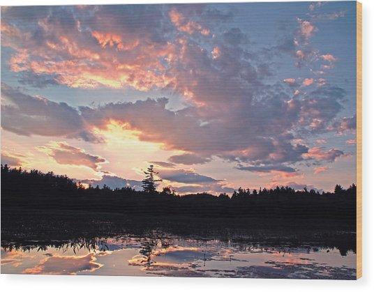 Twilight Glory Wood Print