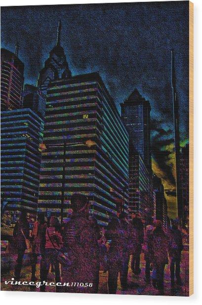 Twilight Of Uncertainty Wood Print