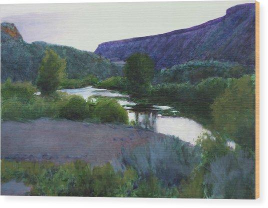 Twilight Taos Sold Wood Print