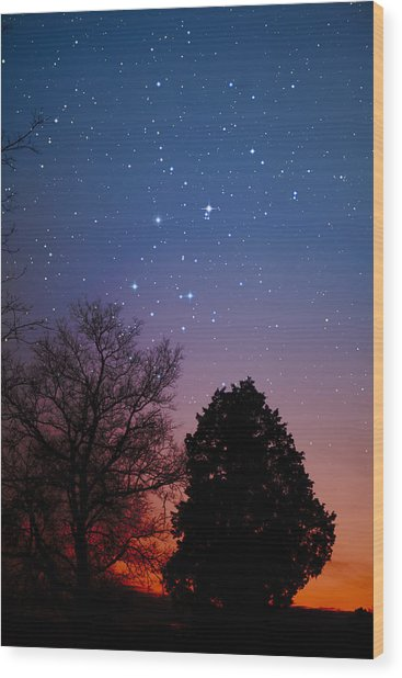 Twilight Transitions Wood Print