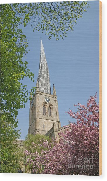 Chesterfield's Twisted Spire Wood Print