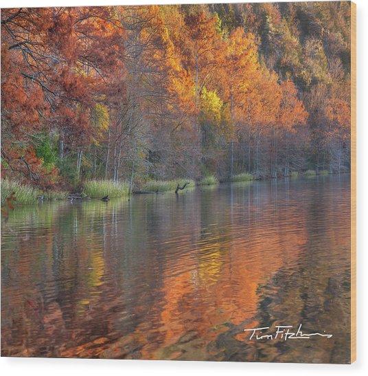 Tyler Lake Wood Print