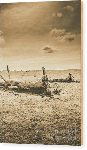Typical Tasmania Wood Print