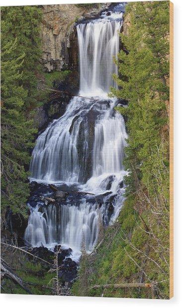 Udine Falls Wood Print