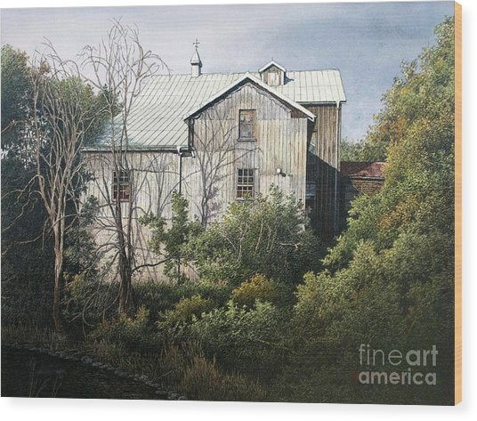 Udora Mill Wood Print