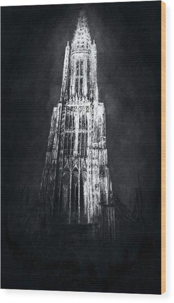 Ulmer Muenster L Wood Print