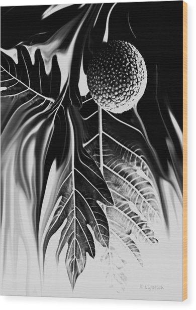 Ulu - Breadfruit Abstract Wood Print