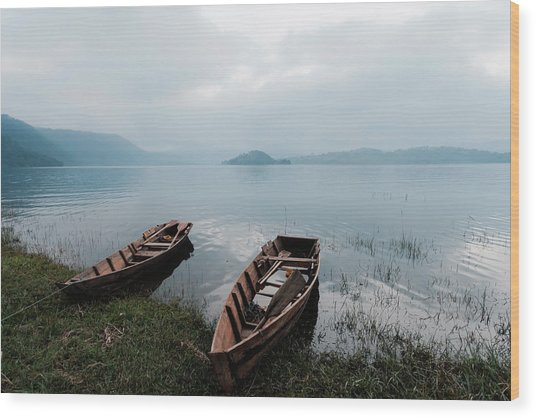 Umiam Lake, Shillong, India Wood Print