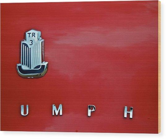 Umph Wood Print