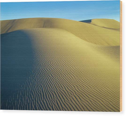Umpqua High Dunes Wood Print