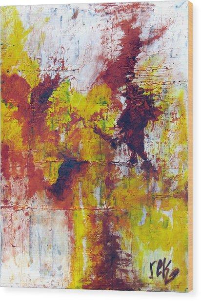 Unafraid Wood Print