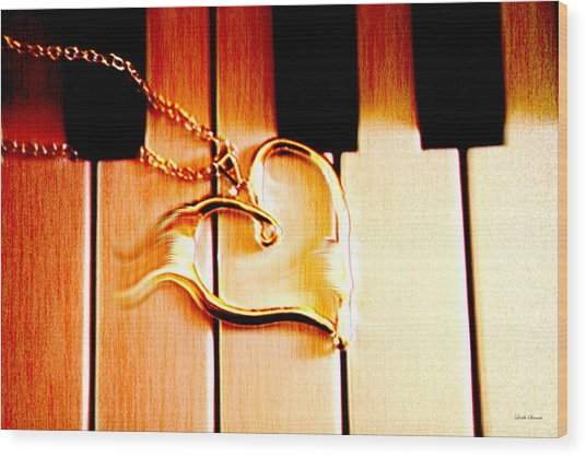 Unchained Melody Wood Print