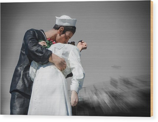 Unconditional Surrender 1 Wood Print