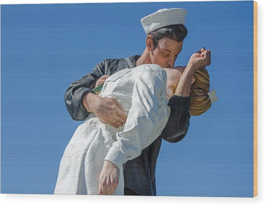 Unconditional Surrender 2 Wood Print