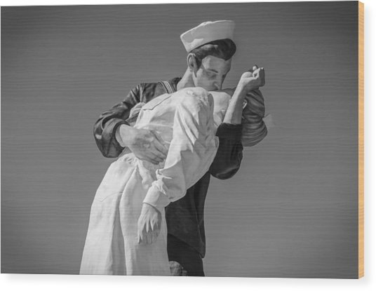 Unconditional Surrender 3 Wood Print