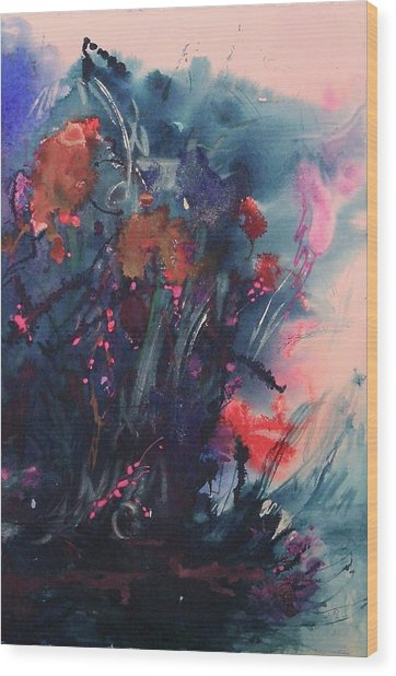 Under The Sea Ballet Wood Print by Sharon K Wilson