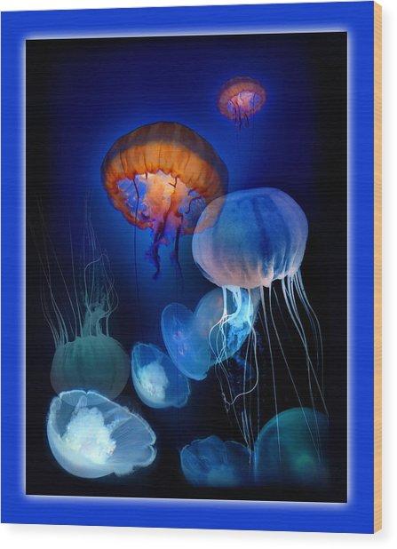 Undersea Dream Wood Print