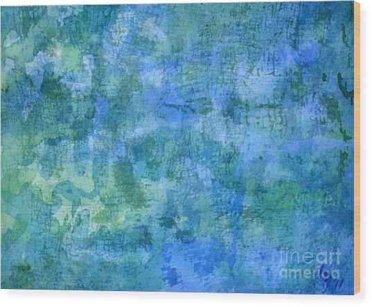 Undersea Wood Print