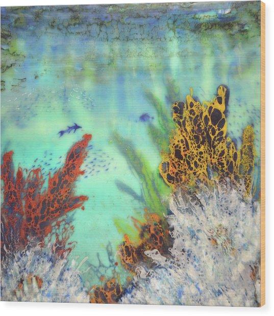 Underwater #2 Wood Print